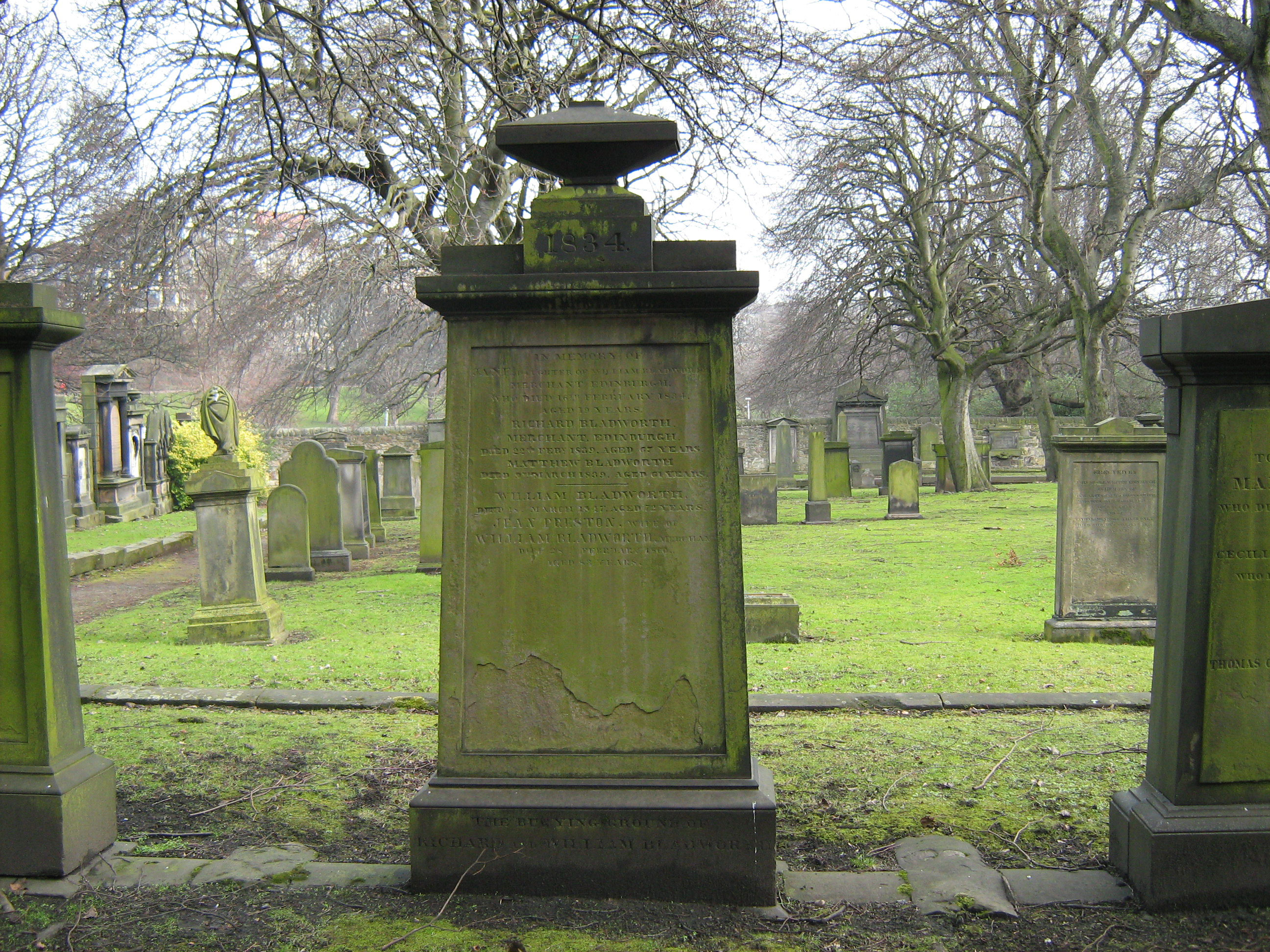 Memorials in Bladworth Cemetery - Find A Grave